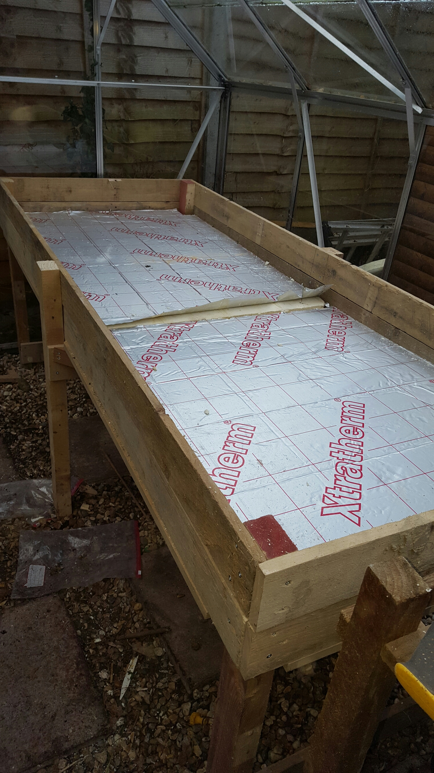 Propagation Bench Part - 20: Insulating A Heated Propagation Bed