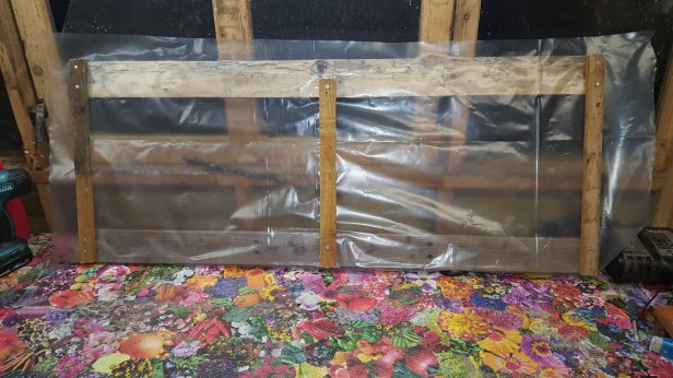Making a cold frame from scrap wood